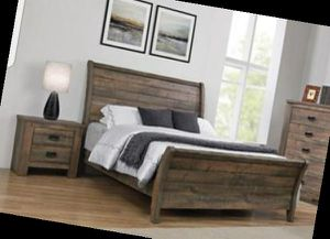 CLOSEOUTS LIQUIDATIONS SALE BRAND QUEEN SIZE 4PC BEDROOM SET AVAILABLE IN KING SIZE. ADD MATTRESS. NEW FURNITURE COASTER 0QCX for Sale in Pomona, CA