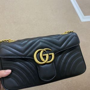 Gucci Bag Crossbody Black Leather With Box for Sale in Newport, TN