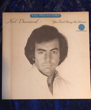 NEIL DIAMOND You Don't Bring Me Flowers LP 1980 ft Barbra Streisand Duet (NM) for Sale in Spokane, WA