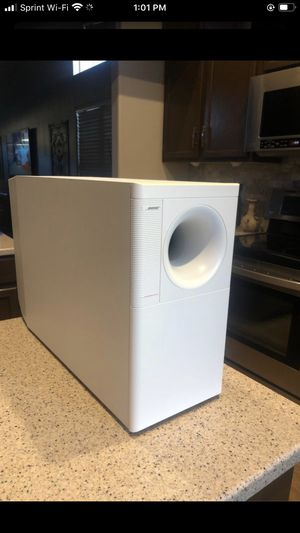 White Bose subwoofer only for Sale in Phoenix, AZ