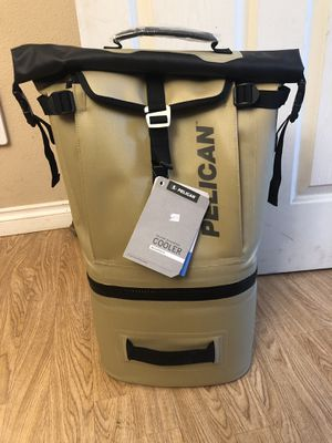 Pelican dayventure backpack cooler. $175 for Sale in La Center, WA