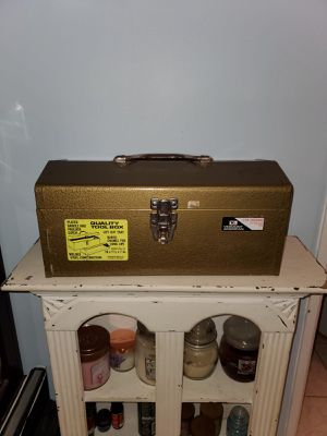 Vintage ATKINSON Industrial Tool Box - Heavy Duty All Steel for Sale in Springfield, VA