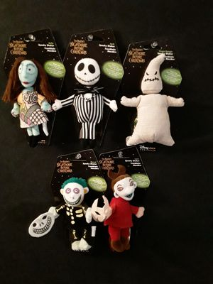 Vintage Nightmare Before Christmas Spooky Shakers (Set Of 5) for Sale in Houston, TX