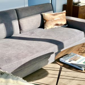 Modern 2-Piece Chaise Sectional Sofa (by Restoration Hardware) for Sale in Chicago, IL