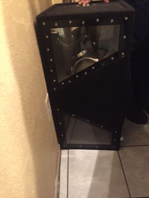 Selling my two speakers for Sale in Visalia, CA
