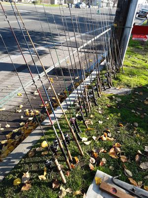 Fishing gear for Sale in Fresno, CA