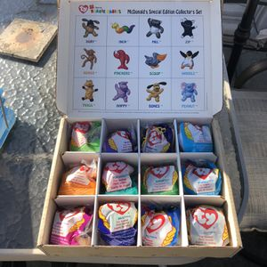 1998 McDonald's Collector's edition Beanie Babies for Sale in Long Beach, CA
