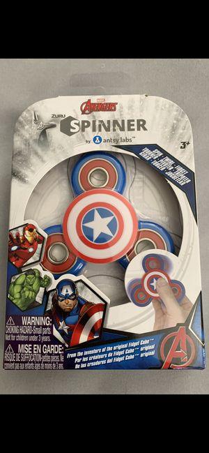 Marvel Avengers Captain America Fidget Zuru Spinner (New) for Sale in Las Vegas, NV