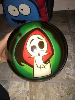 EXTREMELY RARE BRAND NEW LIMITED EDITION CARTOON NETWORK BOWLING BALL AND PACKPACK for Sale in Hyattsville, MD