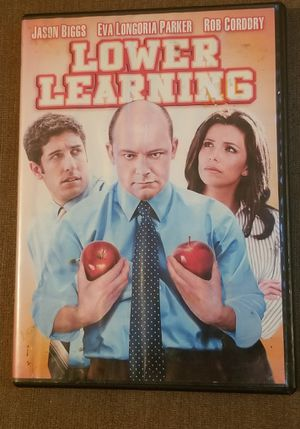 Lower Learning DVD movie stars Jason Biggs for Sale in Three Rivers, MI