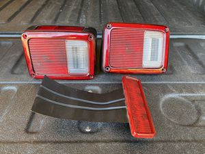 Jeep head and tail lights for Sale in Fontana, CA