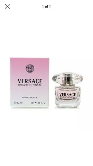 .17 ounce Versace bright crystal perfume for Sale in Universal City, TX
