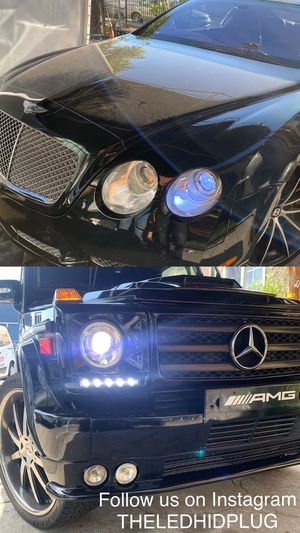 Daylead USA leds headlights or fog lights 25$ each pair for Sale in Los Angeles, CA