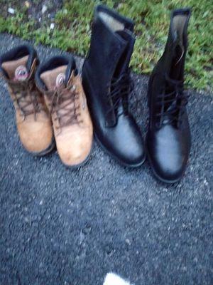 Men's size 11 Goodyear builtrite oil proof steel toe work boots for Sale in Hialeah, FL