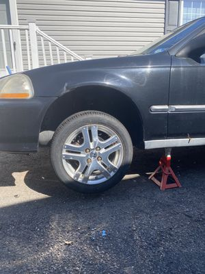 Rims 15x6 with 1 inch spacers for Sale in Chantilly, VA