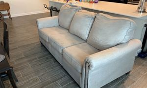 FREE 2 yr old Ashley Sofa Light Gray for Sale in Orlando, FL