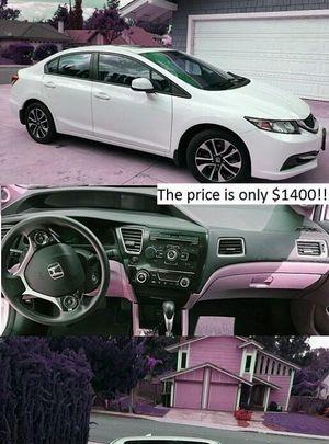 2013 Honda Civic Price$1400 for Sale in Detroit, MI