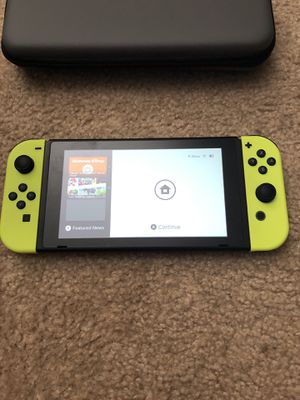 Nintendo Switch complete w/ game/extra for Sale in Stanton, CA