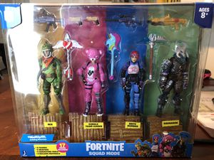 Fortnite Squad Mode 4pk for Sale in Raleigh, NC