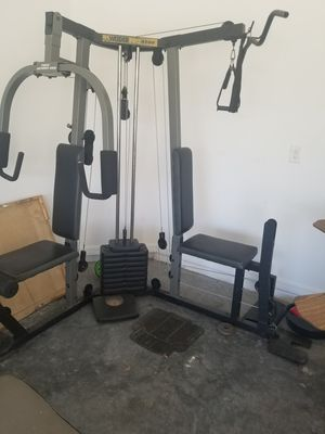 Weight set and elliptical for Sale in Orlando, FL