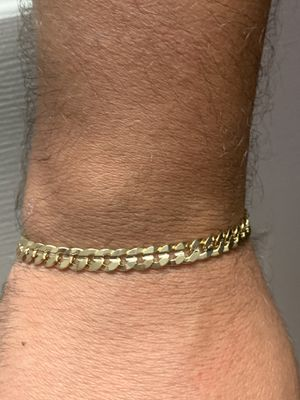 """7 mm Concave Cuban link Bracelet 8"""" Inches for Sale in Raleigh, NC"""
