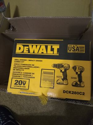 DeWalt driver and impact drill for Sale in Kerman, CA