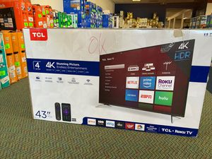"Brand New TCL ROKU 43"" 4K Smart Tv! for Sale in Redondo Beach, CA"