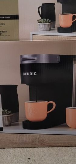 Keurig K Slim With Box Of Dunkin Donuts Coffee for Sale in Belleville,  NJ