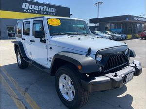 2017 Jeep Wrangler Unlimited for Sale in Escondido, CA