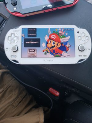 PSP with 2000 games 15 emulators awsome games great times ((( ps vita )) OLED for Sale in Dallas, TX