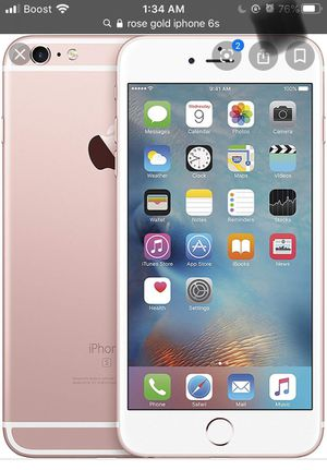 iPhone 6s unlocked rose gold for Sale in Kansas City, MO
