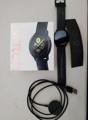 Galaxy watch active 40mm. Like new. for Sale in Ontarioville, IL