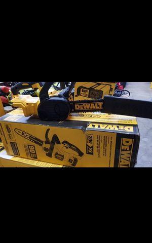 "DEWALT 20V MAX XR BRUSHLESS 10""IN CHAINSAW TOOL ONLY BRAND NEW for Sale in San Bernardino, CA"