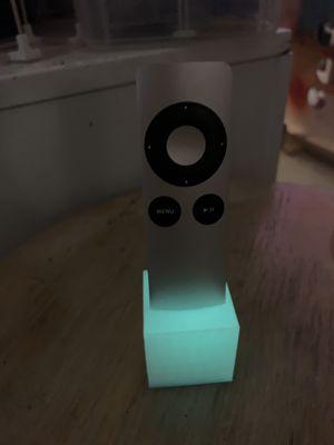 Apple TV Remote stand—glows in dark for Sale in Scottsdale, AZ