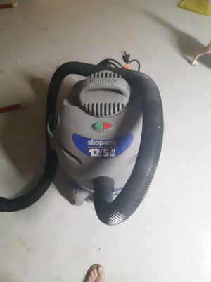 Shop vac contractor 12gal 5hp for Sale in South Charleston, OH