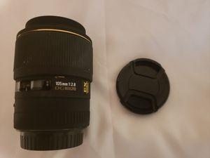 Sigma 105 2.8 Macro Lens for Sale in Chesapeake, VA
