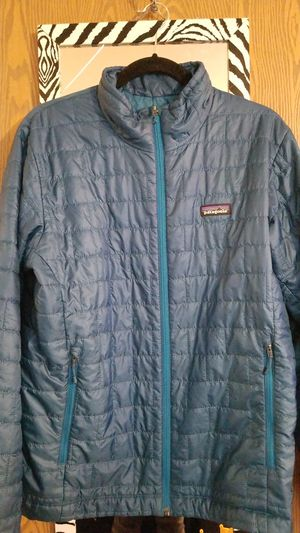 Mens PATAGONIA Down Quilted Jacket Sz. MED for Sale in Everett, WA