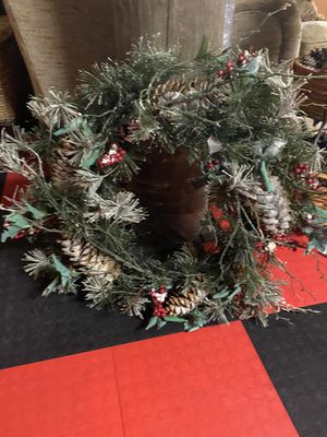 Christmas wreath for Sale in Palm Harbor, FL