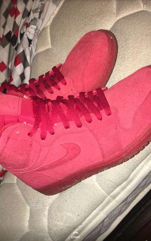 Jordan 1 Retro Suedes (Red) for Sale in Swartz Creek, MI