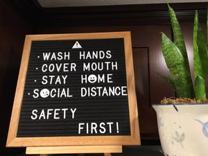 Felt Letter Board New for Sale in West Covina, CA