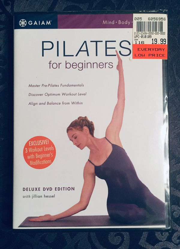 REDUCED~ New Gaiam DVD Top Rated Beginners Pilates