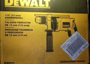 Dewalt 1/2 in Hammer Drill (corded) for Sale in Raleigh, NC