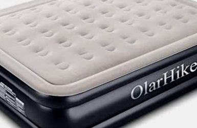 New OlarHike Queen Size Air Mattress with Built-in Pump for Sale in Hesperia,  CA
