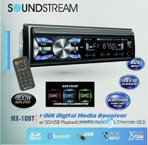 SOUNDSTREAM MX-10BT BUILT-IN BLUETOOTH CAR DIGITAL MEDIA PLAYER STEREO RECEIVER for Sale in Chula Vista, CA