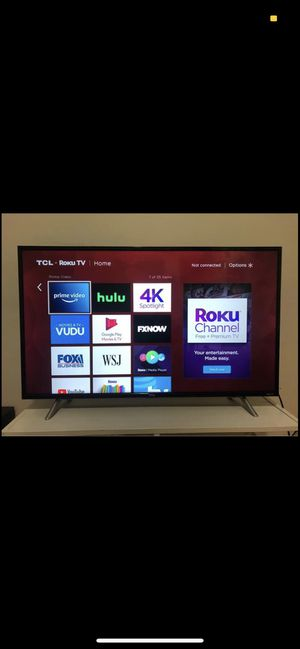 Tcl roku tv for Sale in Medway, MA