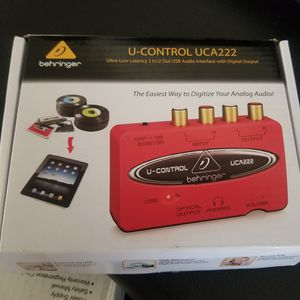 USB Audio Interface for Sale in Chico, CA