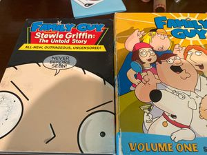 DVD family guy volume 1 and Stewie the untold storie for Sale in Los Angeles, CA