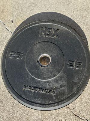 25 lb Rubber weight for Sale in San Bernardino, CA
