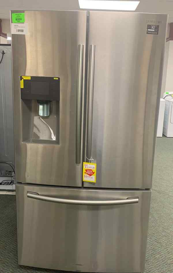 Brand new Samsung refrigerator French door stainless steel all new with warranty WJHLV
