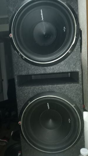 BRAND NEW 1200 WATT ROCKFORD FOSGATE 12 INCH SUBS WITH BOX for Sale in Buttonwillow, CA